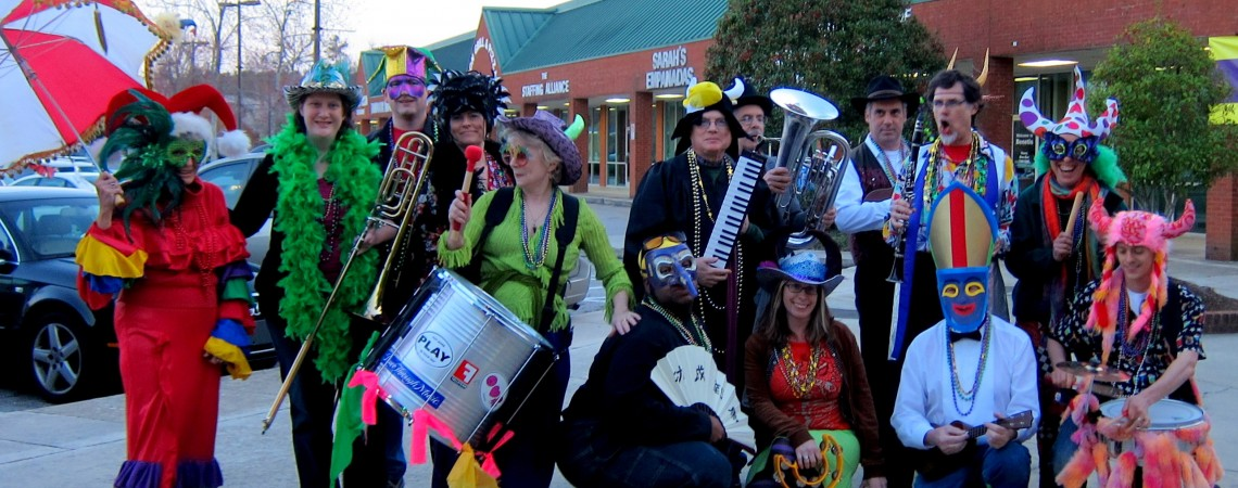 Our first Mardi Gras, 2011